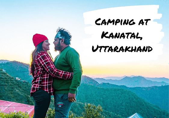 Camping at Kanatal