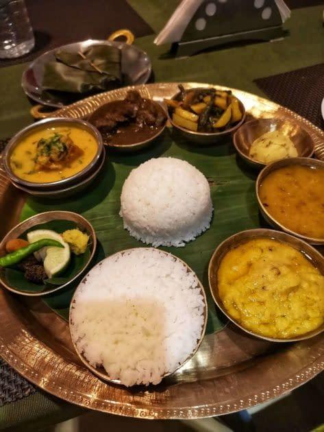 Guwahati_Assamese Thali_Paradiserestaurant
