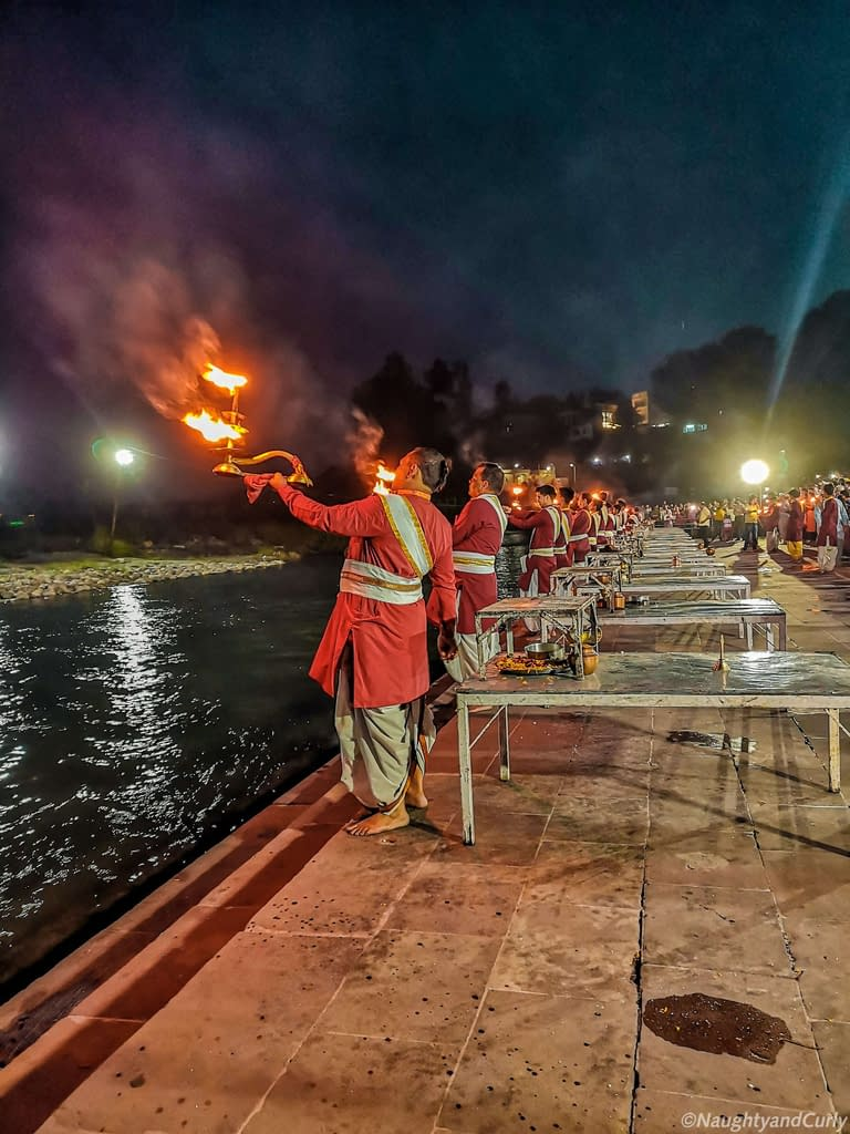 Ganga Aarti_Triveni Ghat_Rishikesh